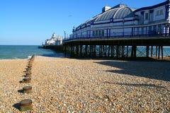 Cais de Eastbourne Foto de Stock Royalty Free