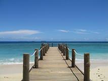 Cais de Fiji Imagens de Stock
