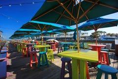 Cais de Key West Fotos de Stock Royalty Free