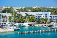 Cais de Key West Foto de Stock Royalty Free