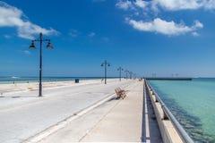 Cais de Key West Foto de Stock