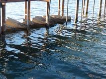 Cais de Lake Tahoe Fotografia de Stock Royalty Free