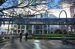 Cais de Lambton em Wellington - Nova Zelândia Fotografia de Stock