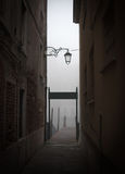 Cais de madeira em Veneza Fotos de Stock