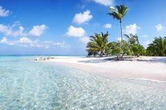 Cais de Maldivas Imagens de Stock Royalty Free