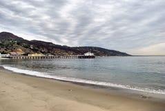 Cais de Malibu Imagem de Stock Royalty Free