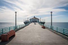 Cais de Manhattan Beach Imagem de Stock