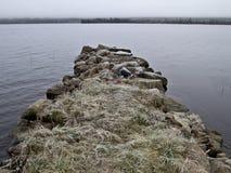 Cais de pedra Fotografia de Stock Royalty Free