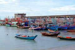 Cais de Phe da proibição, Trat, Tailândia, Fotografia de Stock