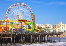Cais de Santa Monica Foto de Stock Royalty Free