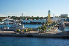 Cais do Bahamas Foto de Stock