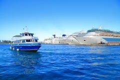 Cais do Bahamas Fotografia de Stock Royalty Free
