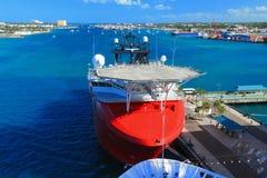 Cais do Bahamas Imagem de Stock Royalty Free