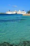 Cais do Bahamas Imagem de Stock