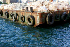 cais do porto Foto de Stock Royalty Free