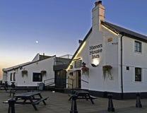 Cais Dorset de Mudeford da pensão da casa do abrigo Imagem de Stock Royalty Free