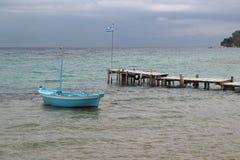 Cais dos barcos de pesca Imagens de Stock