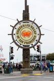 Cais dos fishermans de San Francisco Bay Area Fotografia de Stock