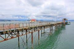 Cais dos Mumbles, baía de Swansea foto de stock royalty free