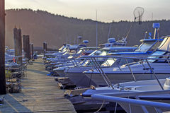 Cais dos pescadores imagens de stock royalty free