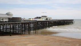 Cais East Sussex Reino Unido de Hastings filme