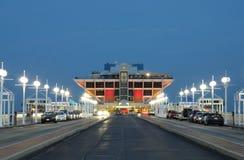 Cais em St Petersburg na noite, Florida Imagem de Stock