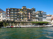 Cais Estiva, Ribeira District in Porto Stock Photography