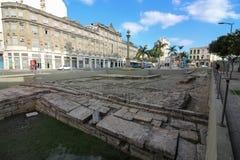 Cais fa Valongo - sito storico del patrimonio mondiale Fotografia Stock