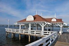 Cais histórico da praia de Bradenton Foto de Stock Royalty Free