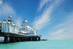 Cais Inglaterra de Eastbourne fotos de stock