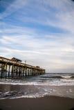 Cais na praia de Fernandina Imagens de Stock