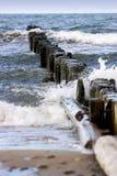 Cais, Neringa Foto de Stock