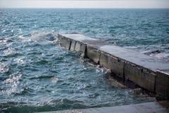Cais no mar Imagem de Stock