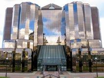 Cais ocidental em Manchester, Reino Unido Fotografia de Stock