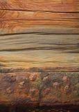Cais oxidado Foto de Stock Royalty Free