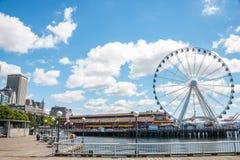 Cais 57 Seattle Washington da margem do turismo Imagem de Stock