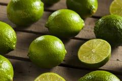 Cais verdes orgânicos crus Fotografia de Stock