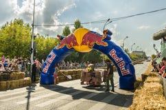 Caisse à savon Bucarest 2014 de Red Bull photos libres de droits