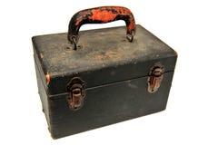 Caisse antique de matériel photos stock