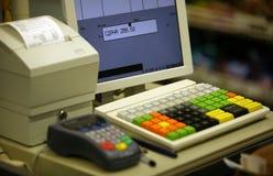 Caisse comptable Images libres de droits
