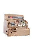 Caisse comptable ancienne Image libre de droits