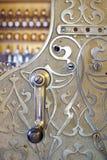 Caisse comptable gravée dans le système Image libre de droits