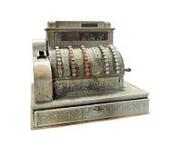 Caisse comptable manivelle-actionnée par antiquité Photographie stock