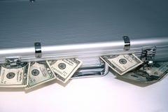 Caisse d'argent Image stock