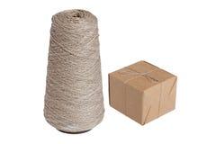 Caisse d'emballage et amorçage  Photo stock