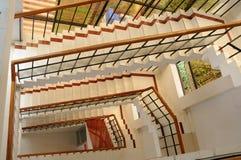Caisse d'escalier image stock