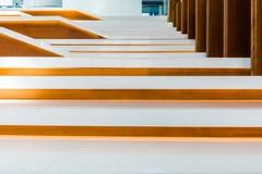 Caisse d'escalier Photos libres de droits