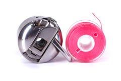 Caisse de bobine et bobine de plastique photos libres de droits
