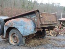 Caisse de camion rustique de patine Photographie stock