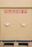 Caisse de carton Images stock